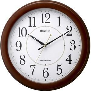 【送料無料】RHYTH・リズム時計 フィットウェーブリッツ 電波掛け時計 8MYA24SR06|hit-market