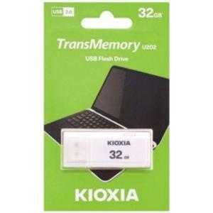 キオクシア 東芝・TOSHIBA USBメモリー32GB TransMemory THN-U202W...