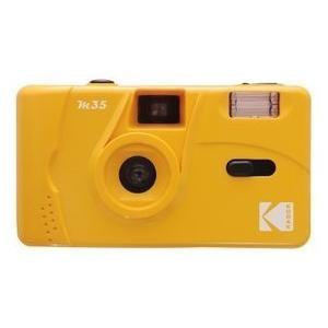 【送料無料】KODAK フィルムカメラ M35 イエロー 海外モデル 35ミリフィルムカメラ