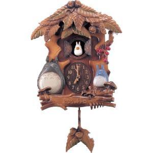 ●毎正時に小トトロが笛(オカリナ)で数取りした後、マックロクロスケのついた葉がオルゴールに合わせて1...