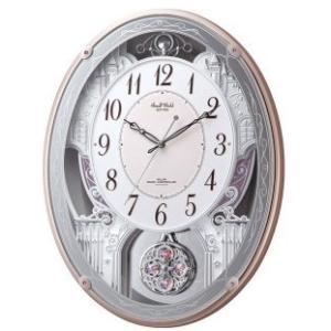 【【送料無料】RHYTHM・ リズム時計 電波からくり掛時計 スモールワールドクオーレ 4MN516RH13 hit-market