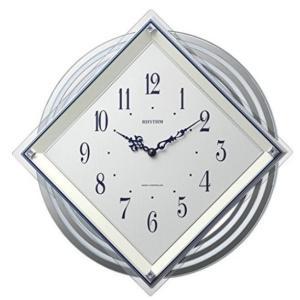 【送料無料】RHYTHM・リズム時計 電波掛時計 ピュレッタ 白色 4MX405SR03 hit-market