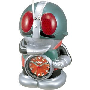 RHYTHM・リズム時計 仮面ライダー置時計 [4SE502RH05]|hit-market
