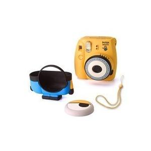 【送料無料】FUJIFILM フジフイルム インスタントカメラ チェキmini8 ミニオン INS MINI 8P MINION