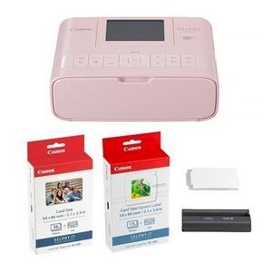 カードプリントキットCanon・キヤノン Wi-Fi接続コンパクトフォトプリンター SELPHY CP1300 PK セルフィ CP1300 ピンク カードプリントキット