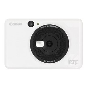 【送料無料】Canon・キヤノン インスタントカメラプリンター iNSPiC CV-123-WH ホ...