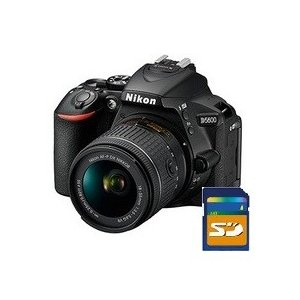 SDHCカード8GB差し上げます【送料無料】Nicon・ニコン 一眼レフデジカメ D5600 18-55 VRレンズキット