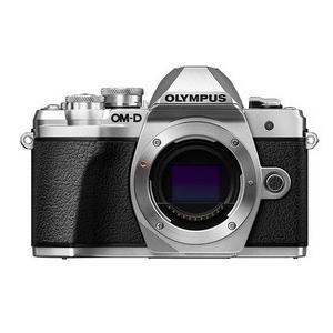 【送料無料】OLYMPUS・オリンパス デジカメ デジタル一眼レフ OM-D E-M10 Mark III ボディ シルバー hit-market