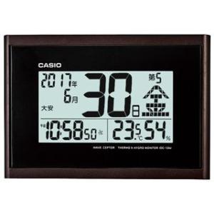 CASIO・カシオ デジタル温度湿度計つき電波...の関連商品4
