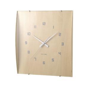 【送料無料】IDEA LABEL イデア・ウッドガラスクロック グランデ LCW027-NW hit-market