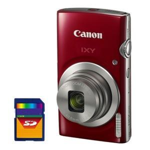 今ならSDHCカード8GB差し上げます【送料無料】CANON・キヤノン 光学8倍デジカメ IXY200RD レッド IXY180後継機