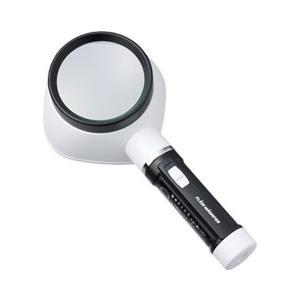 Vixen・ビクセン ライト付きで文字も明るく見やすい フラッシュルーペF80 2.5倍 hit-market