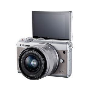 今ならSDHCカード8GB付き【送料無料】キヤノン Canon ミラーレス EOS EOS M100 ダブルズームキット グレー hit-market 03