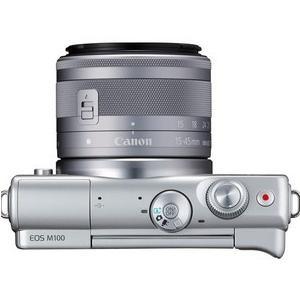 今ならSDHCカード8GB付き【送料無料】キヤノン Canon ミラーレス EOS EOS M100 ダブルズームキット グレー hit-market 04