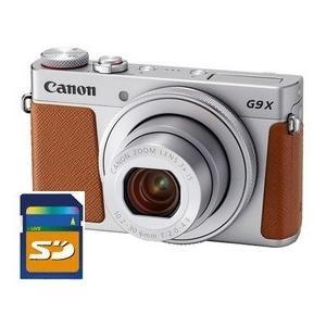 SDHCカード8GB差し上げます【送料無料】キヤノン Canon デジカメ 高画質 軽量 パワーショット PowerShot G9 X Mark II シルバー hit-market