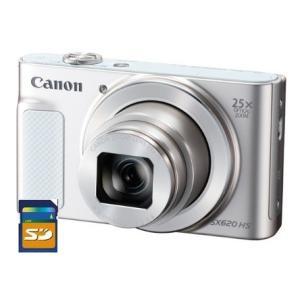 【今ならSDHCカード8GB差し上げます】CANON・キヤノン PowerShot SX620HS ホワイト|hit-market