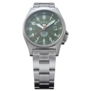 【送料無料】【日本製】【国内正規品】ケンテックス Kentex 腕時計 防衛省 JGSDF JSDFスタンダードモデル 陸自メタルバンド S455M-09|hit-market