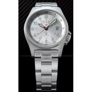 【送料無料】【日本製】【国内正規品】ケンテックス Kentex 腕時計 防衛省 JASDF JSDFスタンダードモデル 海自メタルバンド S455M-11|hit-market
