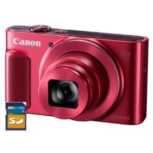 【今ならSDHCカード8GB差し上げます】CANON・キヤノン PowerShot SX620HS レッド|hit-market
