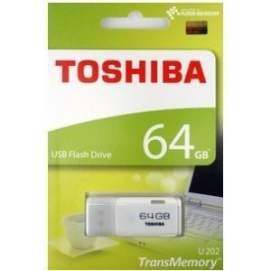 キオクシア 東芝・TOSHIBA USBメモリー64GB TransMemory THN-U202W...