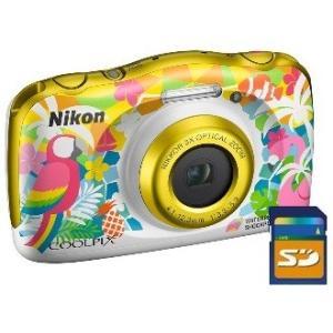 今ならSDHCカード8GB差し上げます【送料無料】ニコン Nikon 防水 耐衝撃デジカメ クールピクス COOLPIX W150 RS リゾート【***特別価格***】|hit-market
