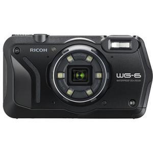 【送料無料】リコー RICOH WG-6 ブラック 防水 耐衝撃 防塵 耐寒 アウトドア GPS搭載 デジカメ CALSモード WG-6BK【***特別価格***】|hit-market