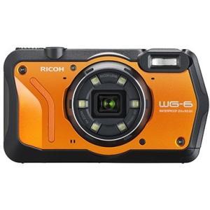 【送料無料】リコー RICOH WG-6 オレンジ 防水 耐衝撃 防塵 耐寒 アウトドア GPS搭載 デジカメ CALSモード WG-6OR|hit-market