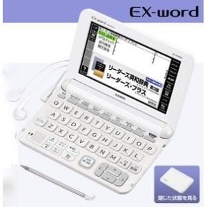 メーカー再生品1年保証 【送料無料】カシオ電子辞書 外国語・英語モデル エクスワード XD-K9800WE ホワイト hit-market