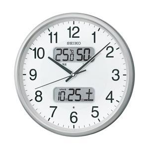 温湿度計カレンダー表示つき電波アナログ掛時計(...の関連商品1