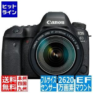 デジタル一眼レフカメラ EOS 6D Mark II(WG)・EF24-105 IS STM レンズ...