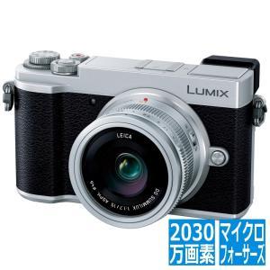 ミラーレス一眼カメラ ルミックス GX7MK3 単焦点ライカDGレンズキット シルバー DC-GX7...