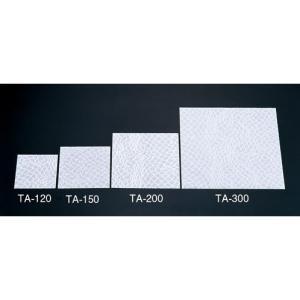 クリア懐敷 網柄(100枚入)TA-300 無蛍光和紙 QKI75300