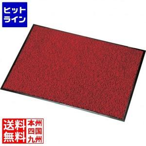 ロンステップ マットランナー 900×1200mm 赤黒 KMT20123Z