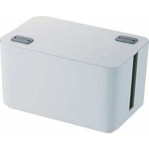 燃えにくい ケーブルボックス (幅250mm) 一般的な4個口の電源タップにぴったりのサイズ EKC...