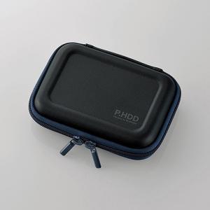 ポータブルHDDケース(セミハード) HDC-SH001BK