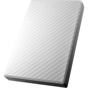 USB3.0/2.0対応ポータブルハードディスク「高速カクうす」 セラミックホワイト 1TB HDP...