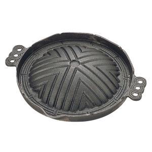 トキワ 鉄製 ジンギスカン鍋(穴無)CR-17 29cm 丸型 | ※こちらの商品は穴無です※
