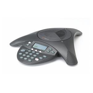 SoundStation2 EX (拡張マイク対応モデル) ポリコム社電話会議システム ※拡張マイクは付属しません PPSS-2【返品不可】