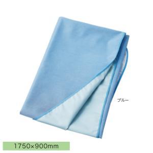 マイスコ デニム防水シーツ 1750×900mm ブルー 品番:MY-7210|hito-mono
