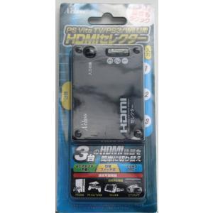 PSVITA PSVita/TV/PS3/Wii U 用 HDMIセレクター 【新品】
