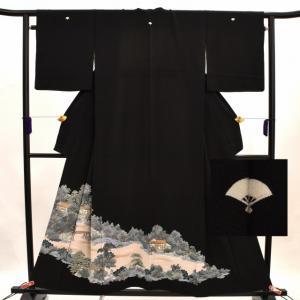 リサイクル着物 黒留袖 中古 仕立て上がり hh1591|hitotoki