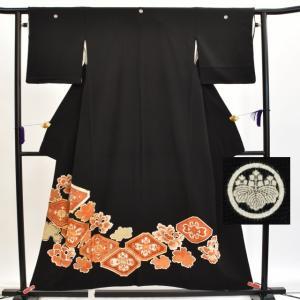 リサイクル着物 黒留袖 中古 仕立て上がり hh2327|hitotoki