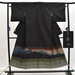 リサイクル着物 紬 中古 正絹 hh2374|hitotoki