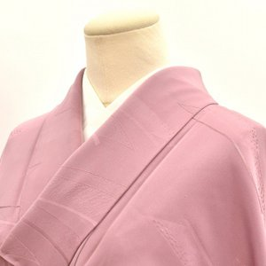 リサイクル着物 色無地 中古 仕立て上がり 正絹 hh2557|hitotoki