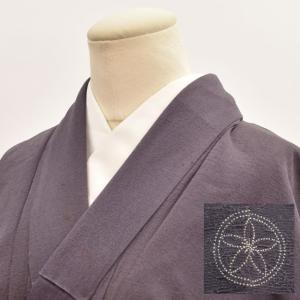 リサイクル着物 色無地 中古 仕立て上がり 正絹 一つ紋 hh2587|hitotoki