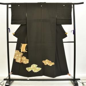 リサイクル着物 黒留袖 中古 仕立て上がり hh2650|hitotoki
