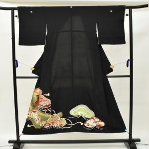 リサイクル着物 黒留袖 中古 仕立て上がり hh2936|hitotoki