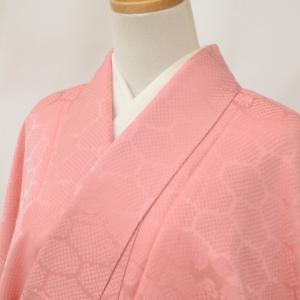 リサイクル着物 色無地 中古 仕立て上がり 正絹 一つ紋 hh3429|hitotoki