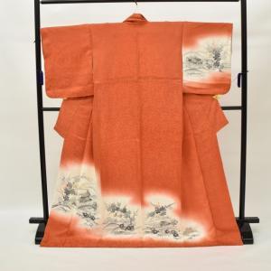 リサイクル着物 訪問着 中古 リサイクル 正絹 仕立て上がり hh3476|hitotoki