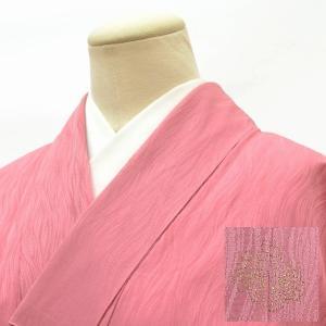 リサイクル着物 色無地 中古 仕立て上がり 化繊 hh4349|hitotoki